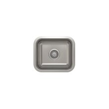 ProInox E200 Single Bowl Undermont Kitchen Sink ProInox E200 18-gauge Stainless Steel, 13'' x 11'' x 7''