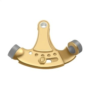 Hinge Pin Stop, Hinge Mounted, Adjustable - PVD Polished Brass Product Image