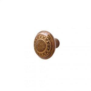 Sundial Knob - K10801 Silicon Bronze Brushed Product Image