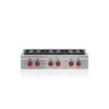 "36"" Sealed Burner Rangetop - 6 Burners"