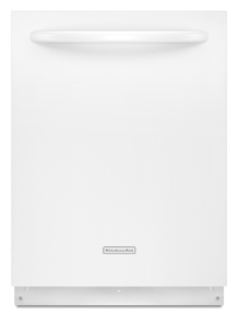 KitchenAid® 24'' 4-Cycle 3-Option Dishwasher, Architect® Series II