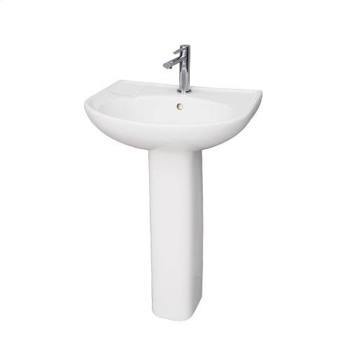 Cynthia 570 Pedestal Lavatory - Single-Hole