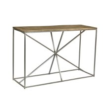 Bengal Manor Asterisk Console Table