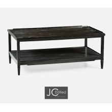 Distressed Dark Ale Coffee Table