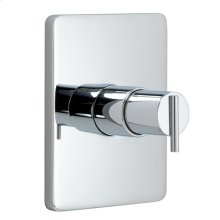 Pressure Balance Shower Valve & Trim - Lever Handle - Polished Chrome