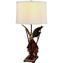 PEACOCK FLIGHT LAMP