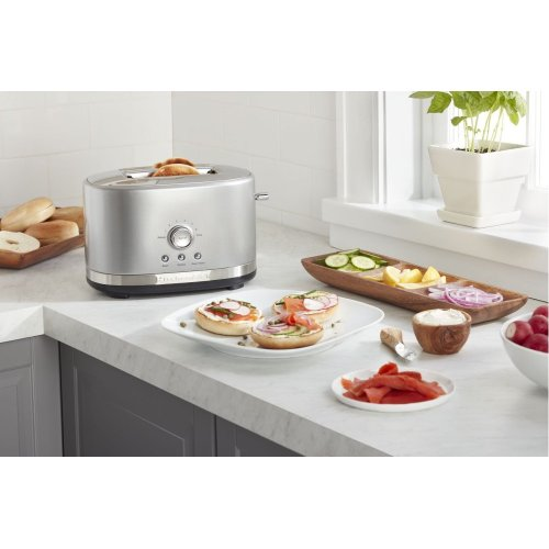 2-Slice Toaster with High Lift Lever - Contour Silver