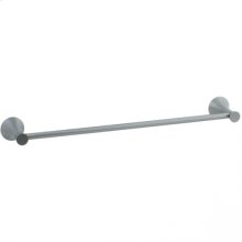 """Brookhaven - Towel Bar With Crown Posts 30"""" - Polished Chrome"""