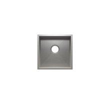 "UrbanEdge® 003609 - undermount stainless steel Bar sink , 15"" × 15"" × 7"""