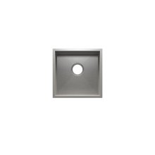 "UrbanEdge® 003609 - undermount stainless steel Bar sink , 15"" × 15"" × 7"""