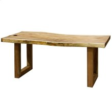 BALI DINING TABLE- SMALL  Natural Finish on East Indian Walnut Wood