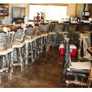 Barstools with Swivel Back Product Image