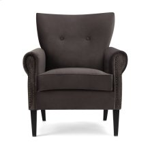 Crestly Velvet Accent Chair