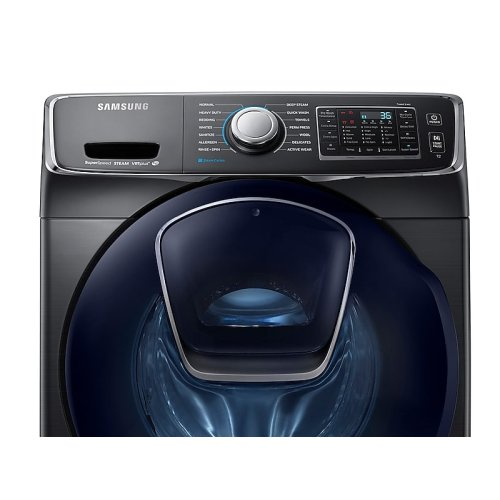 4.5 cu. ft. AddWash™ Front Load Washer in Black Stainless Steel