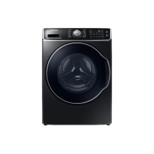 5.6 cu. ft. Front Load Washer with SuperSpeed in Black Stainless Steel