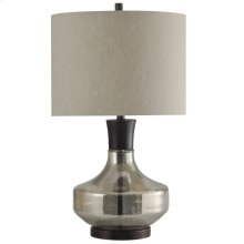 Alamos  Mercury Glass & Metal Table Lamp