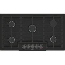 800 Series Gas Cooktop 36'' Black