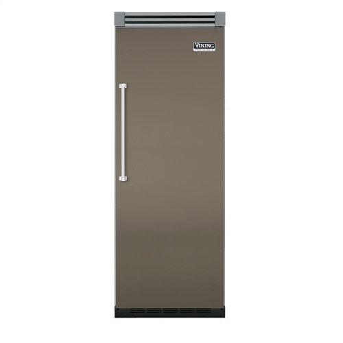 "Stone Gray 30"" Quiet Cool™ All Freezer - VIFB Tru-Flush™ (Right Hinge Door)"