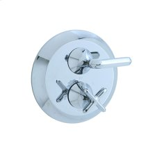 Hexa - Thermostatic Control Valve Trim - Polished Chrome