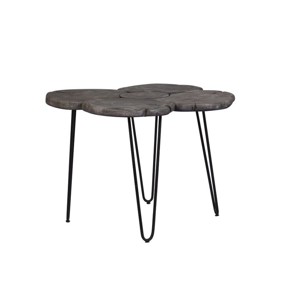 Molalla Gray Log Dining Table, SB-AUT-100