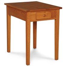 Shaker 1-Drawer Lamp Table