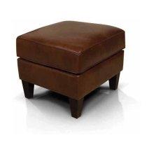 Leather Louis Ottoman 2917AL