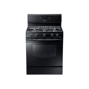 5.8 cu. ft. Gas Range in Black Product Image
