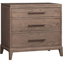 Uptown 3-Drawer Night Stand