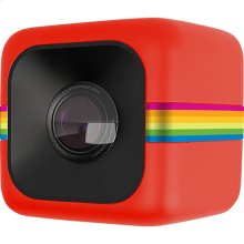 Polaroid Cube Mini Lifestyle Action Camera in Red