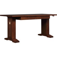 Oak Hi-lo Standing Desk