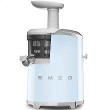 Smeg 50s Retro Style Design Aesthetic Slow Juicer, Pastel Blue