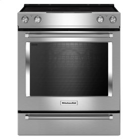 30-Inch 5-Element Electric Convection Front Control Range - Stainless Steel