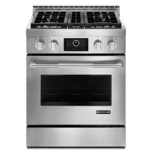 "Jenn-Air® 30"" Pro-Style® LP Range with MultiMode® Convection System, Pro-Style® Stainless Handle"