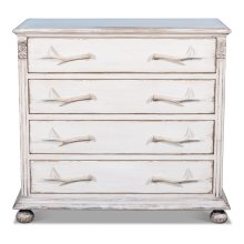 Buck's Commode In White