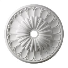Melon Reed Medallion 32 Inch in White Finish