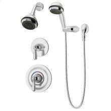 Symmons Allura® Shower/Hand Shower System - Polished Chrome