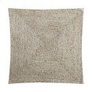 "Rowan Braided Natural Fiber Square Pillow (20"" X 20"") Product Image"