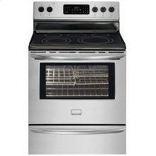 """Frigidaire Gallery 30"""" Freestanding Electric Range (This is a Stock Photo, actual unit (s) appearance may contain cosmetic blemishes. Please call store if you would like actual pictures). This unit carries our 6 month warranty, MANUFACTURER WARRANTY and REBATE NOT VALID with this item. ISI 34274"""