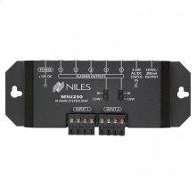 IR Repeater Main System Unit for Single Zone; Two Input, Five Flasher Out MSU250