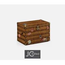 Travel Trunk Style Storage Chest