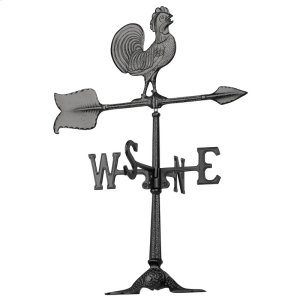 "24"" Rooster Accent Weathervane Product Image"