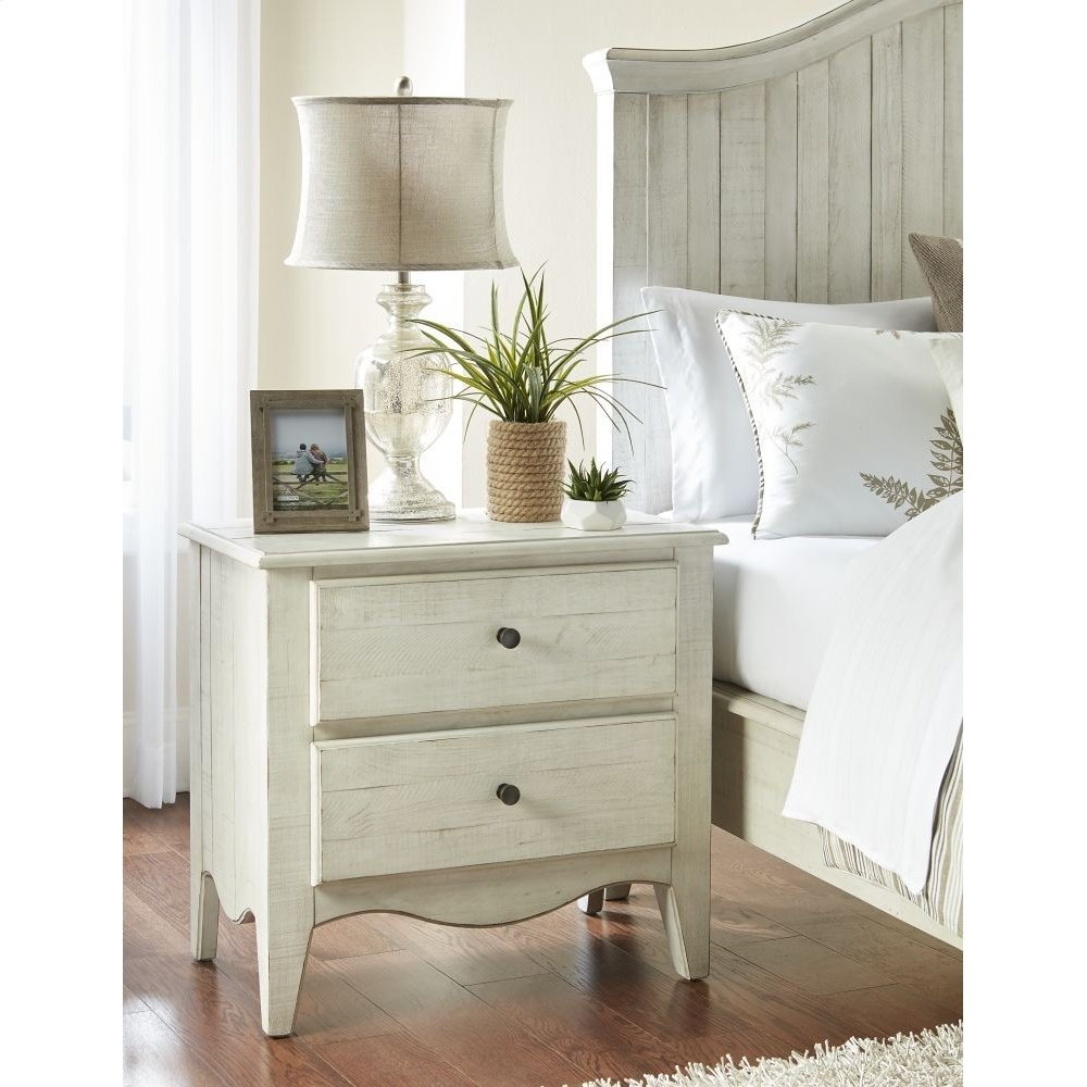 Ella 2-Drawer Nightstand