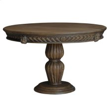 Gothic Round Dining Table 5'