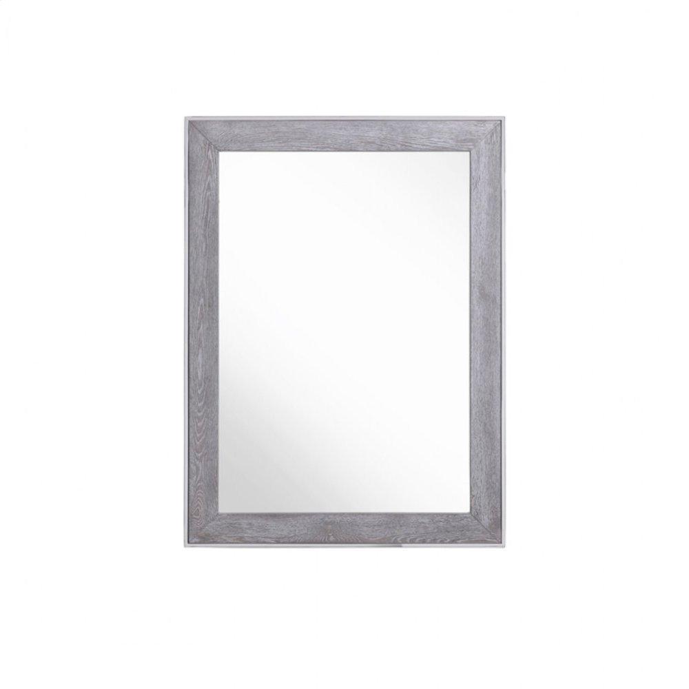 Modrest Arlene Modern Grey Elm Mirror