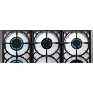 """Range NEXT 36"""" Classic Stainless steel 6 gas, gas oven"""