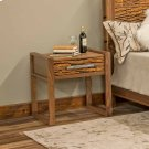 Riley 1 Drawer Nightstand With Bark Tile Product Image
