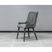 Alana Charcoal Upholstered Dining Chair - Set of 2 Product Image