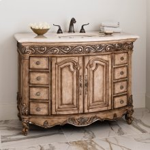 Provincial Medium Sink Chest - Light