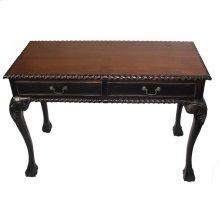 2-Drawer Desk-Black