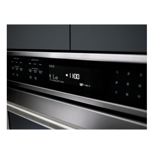 """KitchenAid® 30"""" Double Wall Oven with Even-Heat™ True Convection - Stainless Steel **OPEN BOX** West Des Moines Location"""